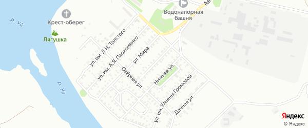Улица им Н.А.Щорса на карте Троицка с номерами домов