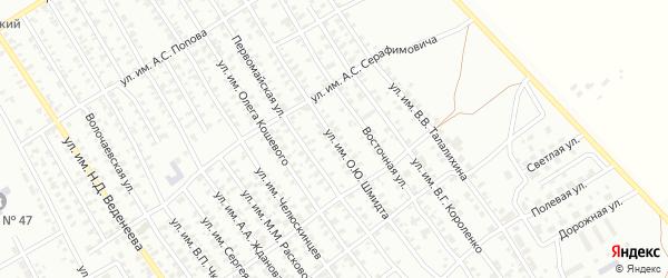 Улица им О.Ю.Шмидта на карте Троицка с номерами домов