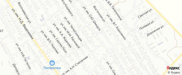 Вагонная улица на карте Троицка с номерами домов