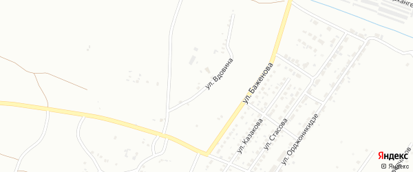 Улица Вдовина на карте Копейска с номерами домов