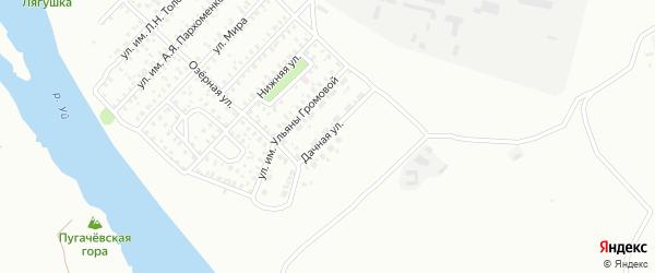 Дачная улица на карте Троицка с номерами домов
