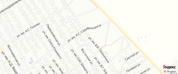Улица им В.В.Талалихина на карте Троицка с номерами домов