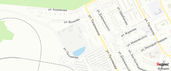 Улица Тюленина на карте Копейска с номерами домов