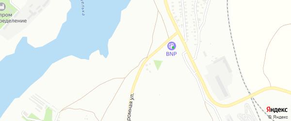 Автодромная улица на карте Троицка с номерами домов