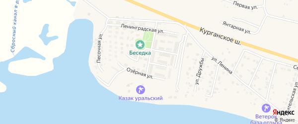 Кольцевая улица на карте Петровского поселка с номерами домов