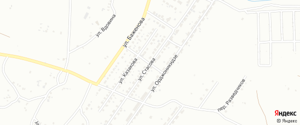 Улица Стасова на карте Копейска с номерами домов