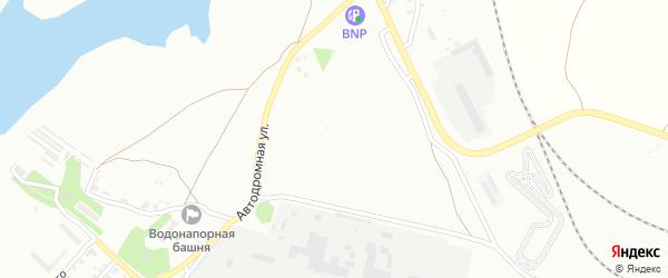 Сад Пищевик на карте Челябинска с номерами домов