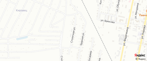 Столичная улица на карте Копейска с номерами домов