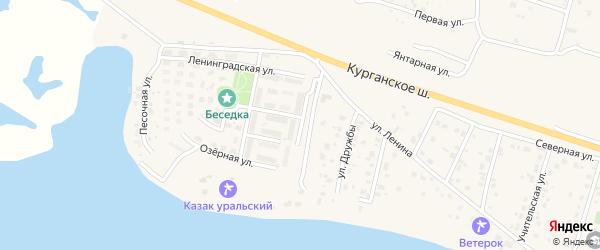Магистральная улица на карте Петровского поселка с номерами домов