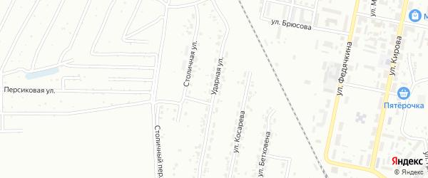 Ударная улица на карте Копейска с номерами домов