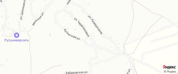Улица Черепановых на карте Копейска с номерами домов