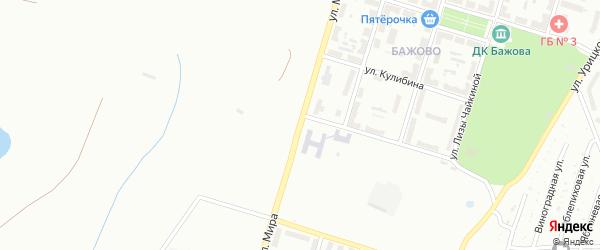 Улица Мира на карте Копейска с номерами домов
