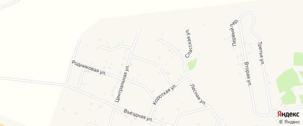 Березовая улица на карте Копейска с номерами домов