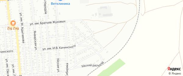 Улица им Я.М.Суворова на карте Троицка с номерами домов
