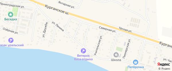 Улица 50 лет Победы на карте Петровского поселка с номерами домов