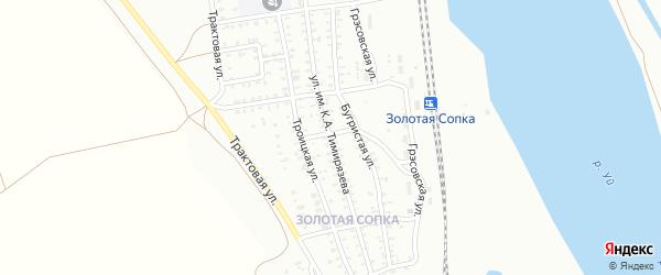 Улица им К.А.Тимирязева на карте Троицка с номерами домов
