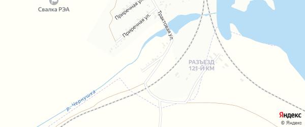Приречная улица на карте Троицка с номерами домов