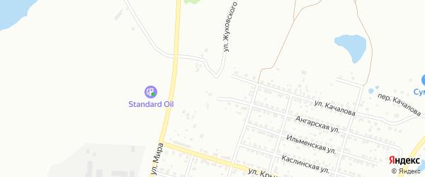 Улица Ярославского на карте Копейска с номерами домов