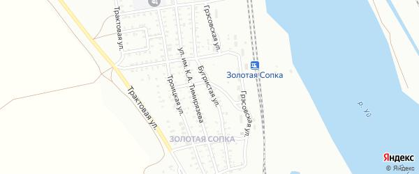 Бугристая улица на карте Троицка с номерами домов