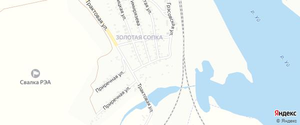 Улица им А.М.Матросова на карте Троицка с номерами домов
