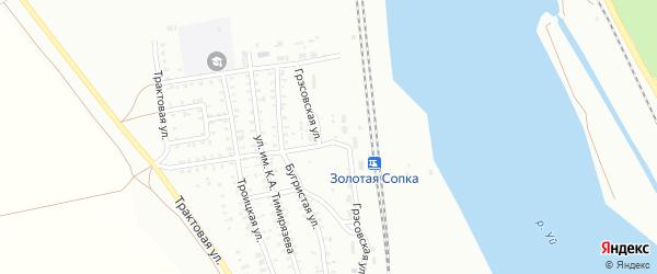 Грэссовская улица на карте Троицка с номерами домов