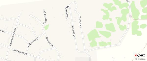 Береговая 2-я улица на карте Копейска с номерами домов