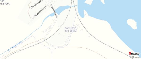 Разъезд 121 км на карте Троицка с номерами домов