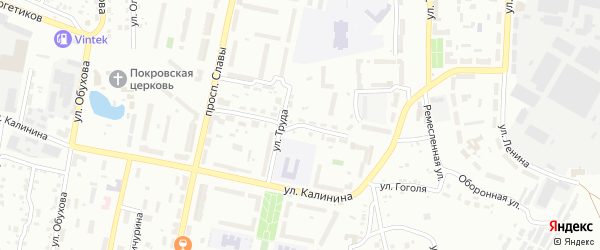 Республиканская улица на карте Копейска с номерами домов