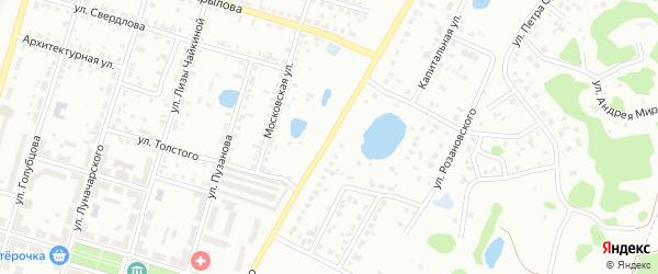 Улица Урицкого на карте Копейска с номерами домов