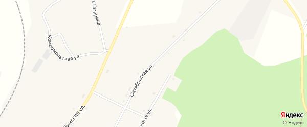 Октябрьская улица на карте села Муслюмово с номерами домов