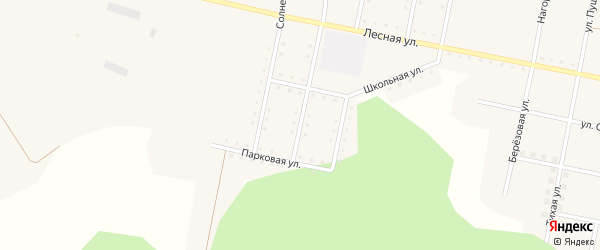 Улица Салавата Юлаева на карте железнодорожной станции Муслюмово с номерами домов