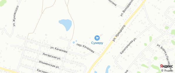 Улица Жуковского на карте Копейска с номерами домов