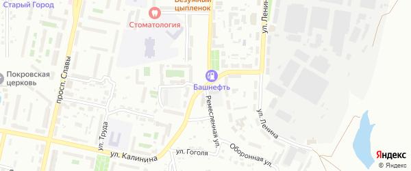 Ремесленная улица на карте Копейска с номерами домов