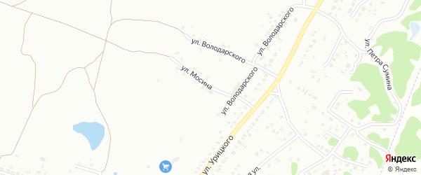 Улица Мосина на карте Копейска с номерами домов