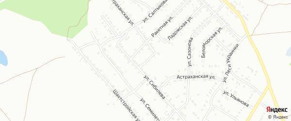 Ладожский переулок на карте Копейска с номерами домов