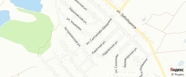 Улица Ульянова на карте Копейска с номерами домов