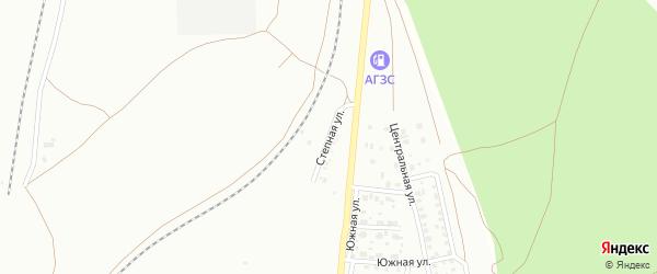 Степная улица на карте Троицка с номерами домов