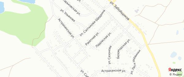 Ракетная улица на карте Копейска с номерами домов
