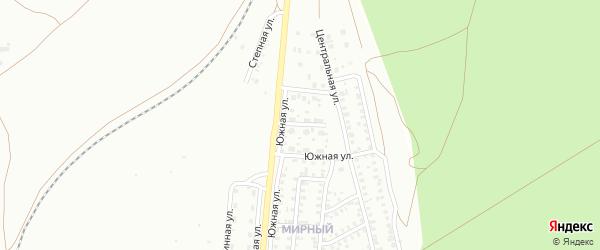 Березовая улица на карте Троицка с номерами домов
