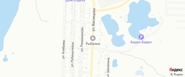Улица Васнецова на карте Копейска с номерами домов