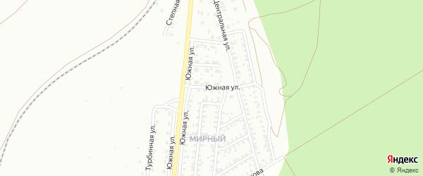Южная улица на карте Троицка с номерами домов