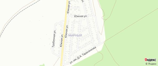 Санаторная улица на карте Троицка с номерами домов