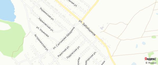 Улица Леси Украинки на карте Копейска с номерами домов