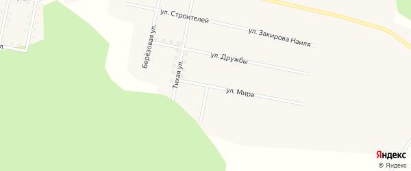 Улица Мира на карте села Муслюмово с номерами домов