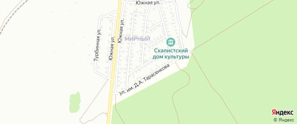 Улица им А.В.Луначарского на карте Троицка с номерами домов