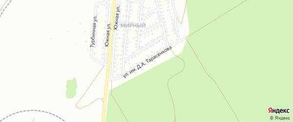 Улица им Д.А.Тарасенкова на карте Троицка с номерами домов