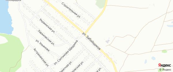 Улица Забойщиков на карте Копейска с номерами домов