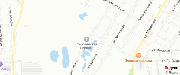 Улица Халтурина на карте Челябинска с номерами домов