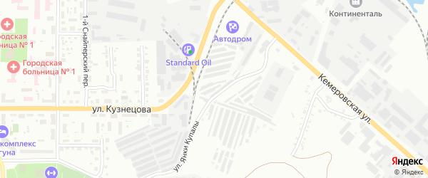 Территория ЯВ 48/6 на карте Копейска с номерами домов