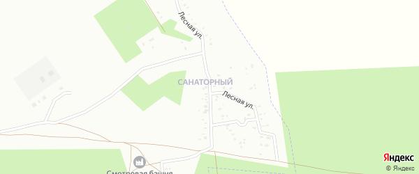Лесная улица на карте Троицка с номерами домов